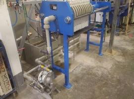SEMET s.r.o. - instalace kalolisu k neutralizačnímu reaktoru