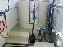 SELECT s.r.o. (Dolný Kubín), pracoviště vysokotlakého čištění dílů po termickém odlakování